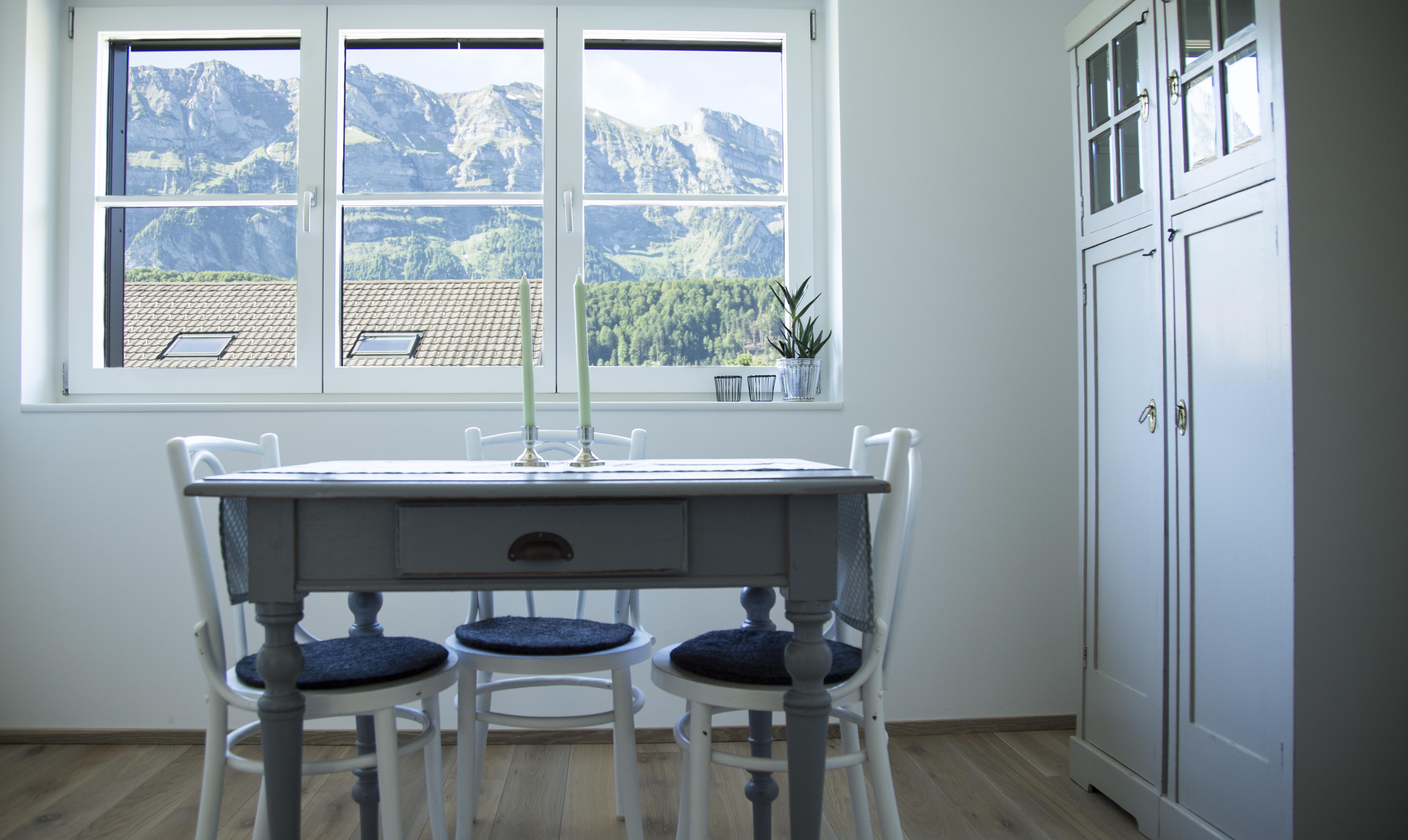 k che schwedischer stil k che vanille welche. Black Bedroom Furniture Sets. Home Design Ideas